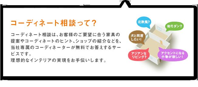 コーディネート相談の説明画像