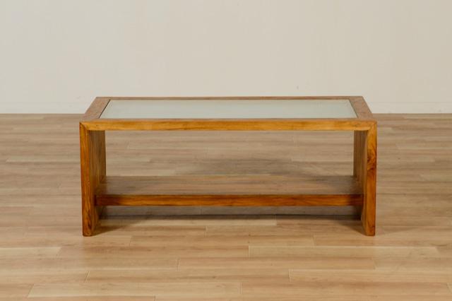 この商品に似ているアイテム画像(UKKO/ガラストップ テーブル ナチュラル|KAJA(カジャ))