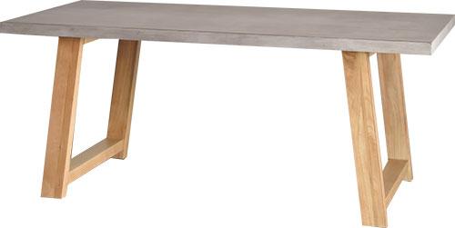この商品に似ているアイテム画像(ダイニングテーブル コンクリート天板 160cm/180cm幅 MERIDIAN|CASA HILS(カーサヒル))