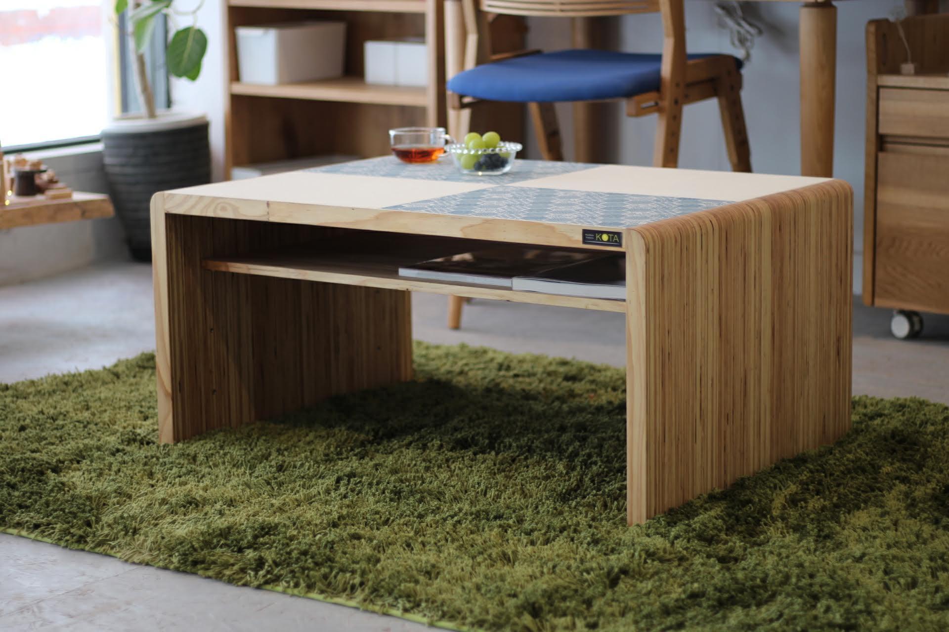この商品に似ているアイテム画像(KOTAオリジナル 和柄センターテーブル(和柄ブルー&ホワイト)|moonlit-studio(ムーンリットスタジオ))
