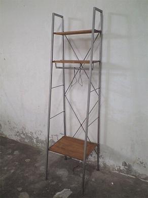 この商品に似ているアイテム画像(IFN-31 チーク+アイアン ハンガーシェルフ|ten tin doors(テン ティン ドアーズ))
