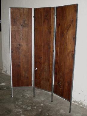 この商品に似ているアイテム画像(IPT-01-3 チーク+アイアンパーティション|ten tin doors(テン ティン ドアーズ))