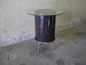 アイテム画像(IFN-38 リユースアイアン・カフェテーブル)サムネイル