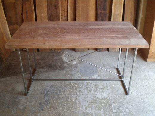 この商品に似ているアイテム画像(IFN-69 オールドチークとアイアンのテーブル-1500|ten tin doors(テン ティン ドアーズ))