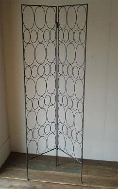 この商品に似ているアイテム画像(IPT-02-2 アイアンワークパーティション<バブル>|ten tin doors(テン ティン ドアーズ))