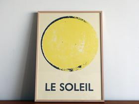 このコーディネートシーンで使われているアイテム画像(LE SOLEIL ポスター)