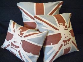 この商品に似ているアイテム画像(Military Union jack cushion|NO NAME PARISH)