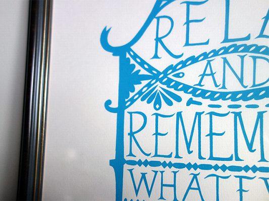 アイテム画像(RELAX AND REMEMBER)メイン