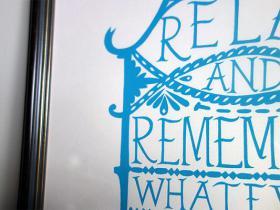 アイテム画像(RELAX AND REMEMBER)サムネイル
