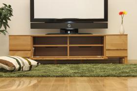 このコーディネートシーンで使われているアイテム画像(ナチュラルTVボード137木脚)
