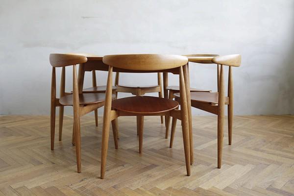 この商品に似ているアイテム画像(FH 4103 ハートチェア ダイニングテーブル セット|haluta AndelLund(ハルタ アンデルンド))
