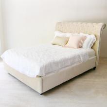 アイテム画像(Velvet Diamond Tufted Bed)サムネイル
