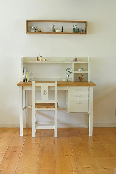 この商品に似ているアイテム画像(sd-03 チェスト付き学習机|cafe de blanc(カフェ・ド・ブラン))