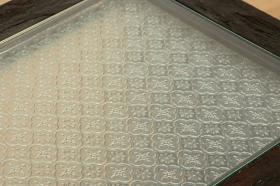 アイテム画像(UKKO/ガラストップテーブル(ブラウン))サムネイル