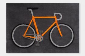 このコーディネートシーンで使われているアイテム画像(自転車のラグマット)