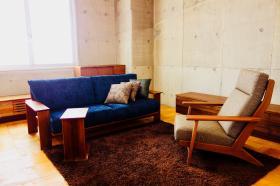コーディネートシーン画像(ナチュラルモダンリビング705|ITO SHOP 木の家具・国産家具の専門店)