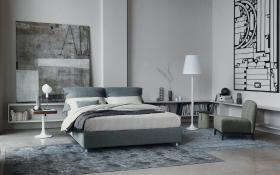 コーディネートシーン画像(シンプルモダンベッドルーム724|イタリア家具.COM)