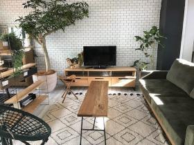 コーディネートシーン画像(ナチュラルモダンリビング927|Labo furniture works)